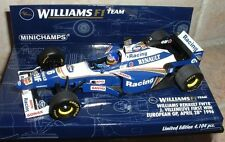 Minichamps 1/43 WILLIAMS FW18 J Villeneuve 1st Win 1996 F1 400960206