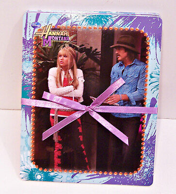 Disney Hannah Montana Miley Cyrus Photo Album Activity Set Stickers Poster Rare Ebay