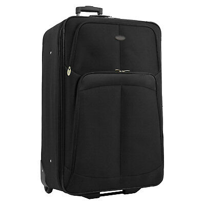 "US Traveler 30"" Large Ultra Light-weight Rolling Luggage Wheeled Travel Suitcase"