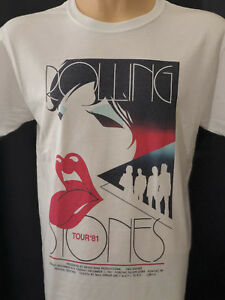 Rolling-Stones-1981-Tour-Concert-T-Shirt-White-Graphic-Tee