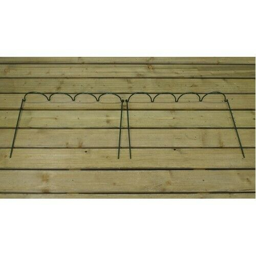 2 Set Garden Extra Wide Multi-Hoop Plant Bow Support System 60 x 40cm Selections