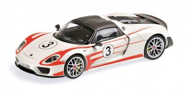 1 43 Minichamps Porsche 918 Spyder Weissach 410062131