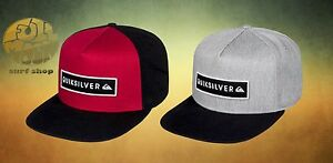 2f89622dc55 Image is loading New-Quiksilver-Men-039-s-Simplay-Snapback-Cap-