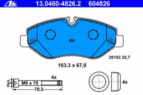 ATE Bremsbeläge//Beläge vorne Mercedes-Benz Sprinter // VW Crafter TOP NEU 906
