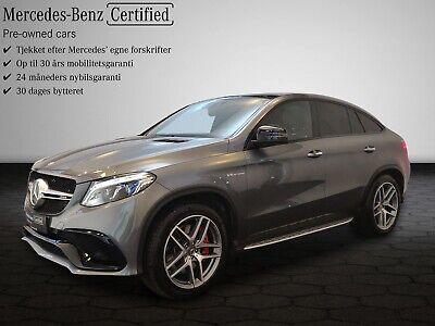 Annonce: Mercedes GLE63 5,5 AMG S Coupé ... - Pris 0 kr.