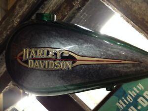 HARLEY-DAVIDSON-FATBOB-GAS-TANK-DECOR-FOR-MAN-GARAGE-POOL-ROOM-MAN-SHED