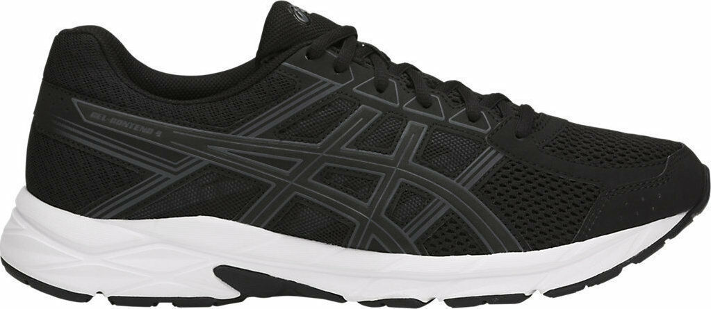 ASICS Gel-Contend 4 Mens Black Carbon White Running shoes T715N.9097 Size
