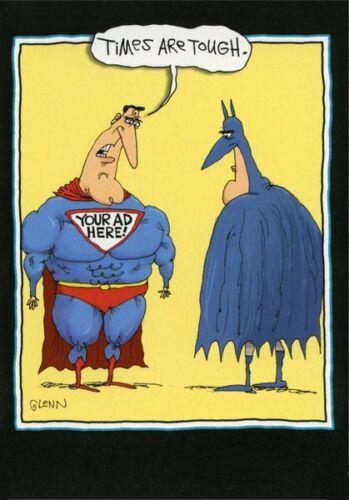 Superhero Advertising Funny McCoy Bros Just For Fun by Nobleworks