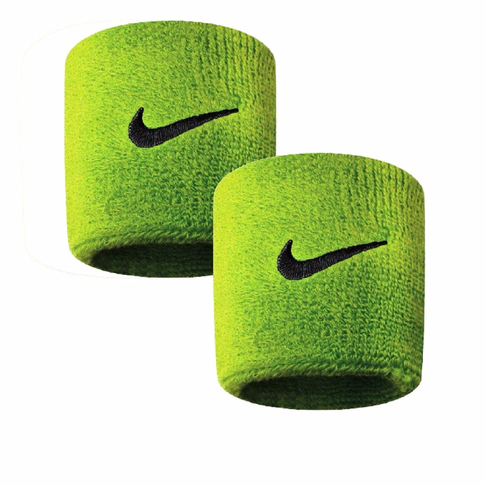Coppia Polsini Tennis Wristband NIKE Swoosh Wristband Tennis più colori FEDERER NADAL 135183
