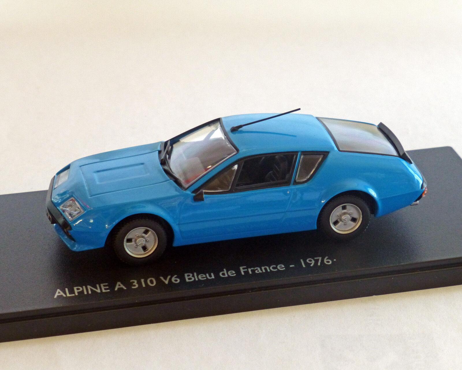 Renault alpine a310 v6 bleu, ELIGOR 1 43