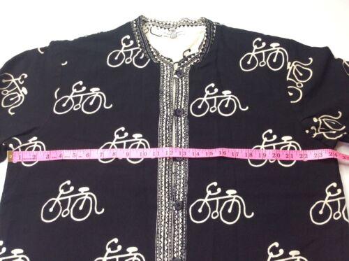 Novelty Sz Sam Cykelcykler Boho Hiln Black Chic Cardigan Xl Off White Sweater xqw0v6R