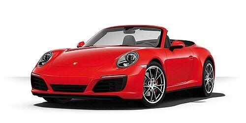 Porsche 911 (991.2) Carrera 4s Cabriolet Red 2017 1:43 Model MINICHAMPS