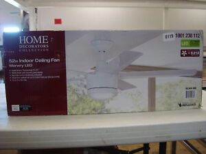 0119 Home Decorators Collection 52 In Indoor Ceiling Fan Merwry Led 1001 238 1 845952000780 Ebay