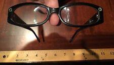 Brighton Vintage Garden Of Eden Black Rx Prescription Glasses Frame