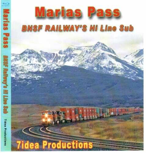 MARIAS PASS BLU RAY 7IDEA PRODUCTIONS BNSF MRL MORE
