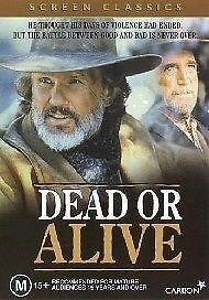 Dead-Or-Alive-DVD-2003-R4-Terrific-Condition-Kris-Kristofferson