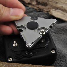 outdoor stainless edc survival pocket tool key ring chain bottle opener tool NIC