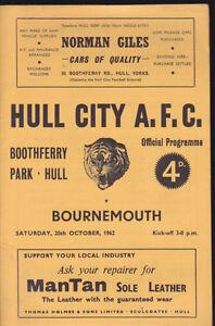 1962-63-HULL-CITY-V-BOURNEMOUTH-20-10-1962-Division-3