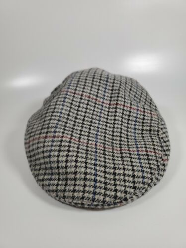 Shandon Wool Tweed Newsboy Cap Golf Hat Size XL 7