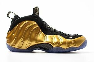 Nike Air Foamposite One Metallic Gold 314996 700 Size 8 Rare