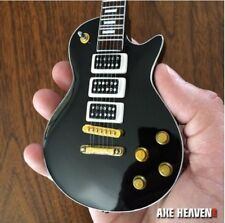 Axe Heaven Ace Frehley Black Beauty Miniature Guitar & Stand gift box