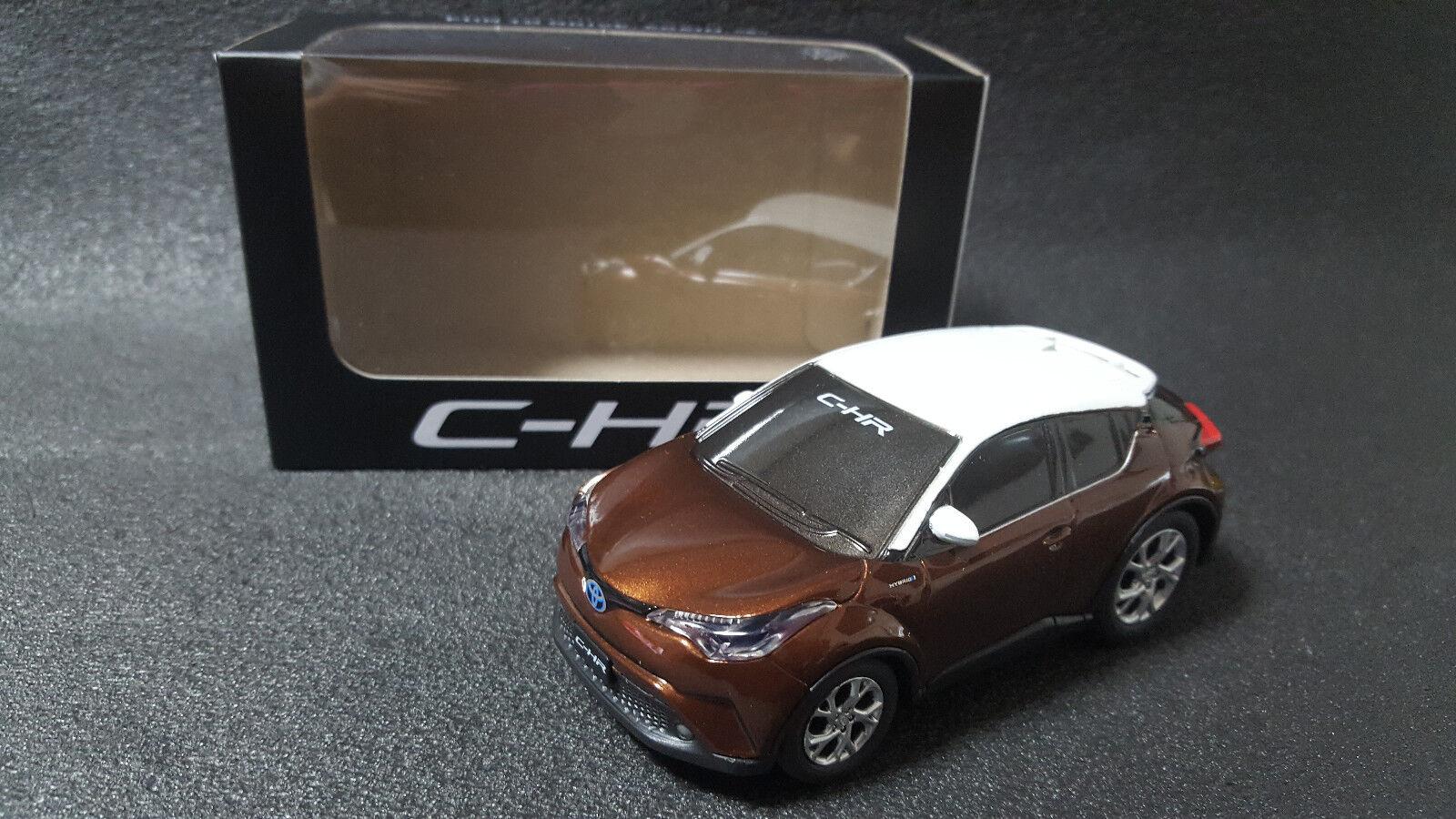 Toyota CH-R CH-R CH-R Marrón blancoo Tire hacia atrás Mini Coche chr Japón no se venden en Japón 270645