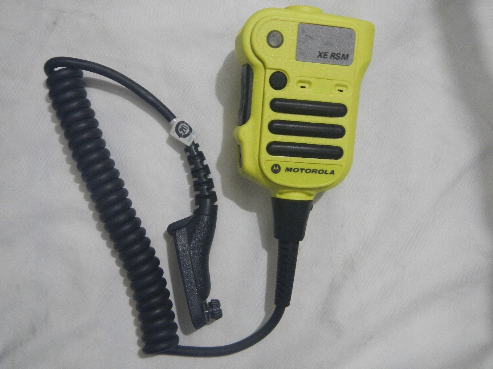 used  Motorola NNTN8203A Yellow Remote Spker Microphone RSM APX8000 APX7000 6000. Buy it now for 120.00