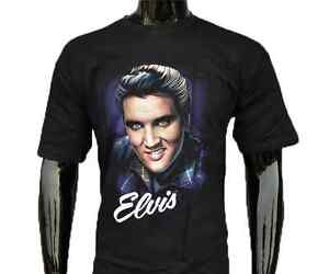 Elvis-Presley-The-King-Graphic-T-Shirt-XS-S-M-L-XL