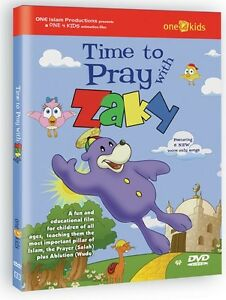 Time to Pray with Zaky : Animated DVD fun & educational by One 4 Kids