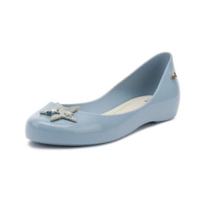 Zaxy Kids Casual Shoes Sky Blue Glitter Star Girls Ballerina Flats ...