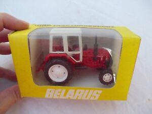Belarus-Tractor-1-43-scale-Vintage-USSR-Russia-Co-NIB-in-Traktoroexport-Box