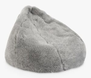John-Lewis-amp-Partners-Soft-Faux-Fur-Bean-Bag-Grey-A