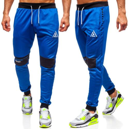 Trainingshose Sporthose Hose Jogger Men Classic Aufdruck Herren Mix BOLF Motiv