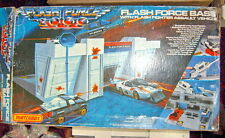 "Matchbox ""Flash Force 2000"" Basisstation Komplett Set in Box"