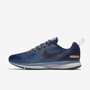 Nike Mens Air Zoom Pegasus 34 Shield 907327-400 Size: 10.5