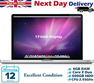 Apple-MacBook-Pro-17-Pulgadas-Intel-Core-2-Duo-2-93GHz-4GB-Ram-500GB-Hdd-A-Grado