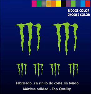 6-X-PEGATINAS-STICKER-VINILO-Monster-Sponsor-Vinyl-Aufkleber-Autocollant