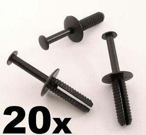 20x-Fiat-Bumper-amp-Wheel-Arch-Plastic-Rivet-Body-Panel-Retaining-Trim-Clips