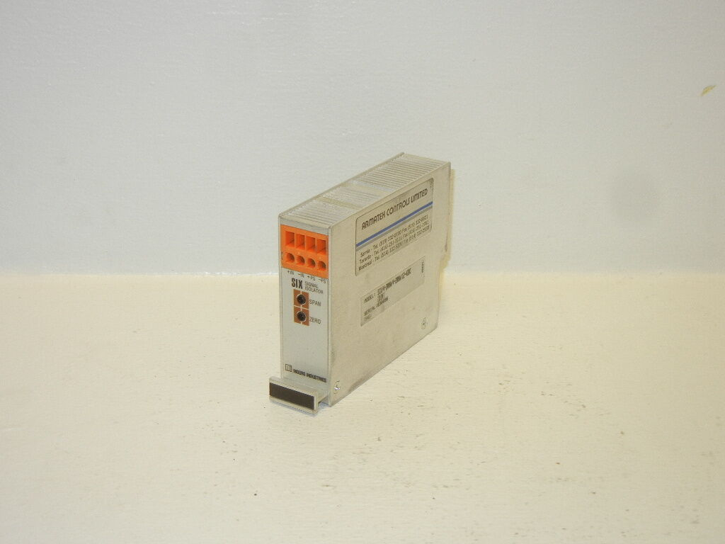MOORE SIX 4-20MA 4-20MA 12-42DC [DIN] USED SIGNAL ISOLATOR SIX420MA420MA1242DC