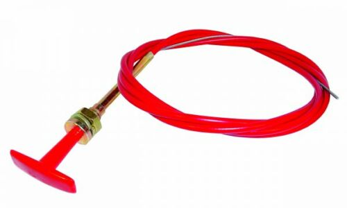 Red T Handle Pull Cable 6ft 1.8 Metres TPK001