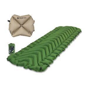 Klymit Static V Green Sleeping Pad Travel Mat W Pillow X