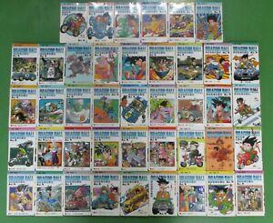 Dragon-Ball-Z-Manga-Comic-Books-Original-Complete-Set-1-42-Japanese-Language