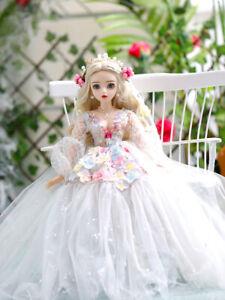 BJD-1-3-Doll-Girl-Changeable-Eyes-Face-Makeup-Clothes-Full-Set-BJD-Puppen