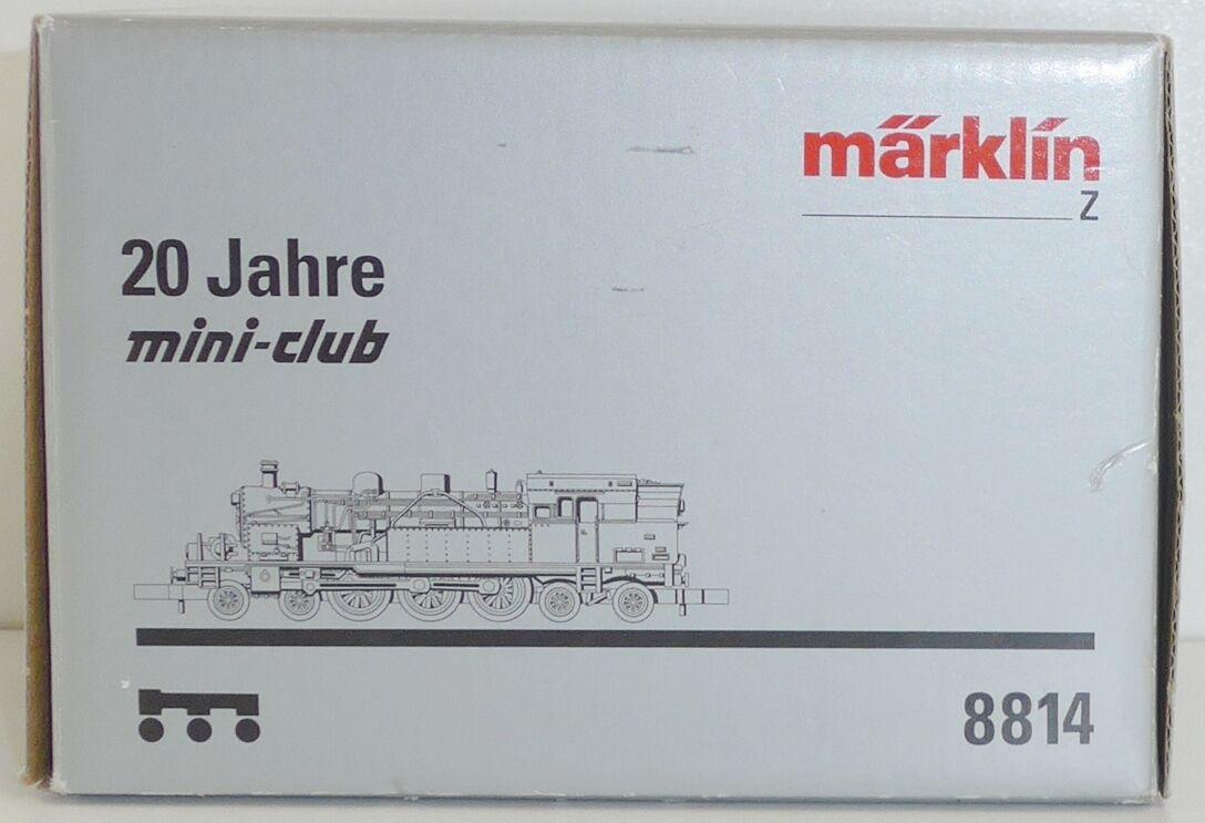Märklin mini-club 8814 DB locomotiva br78 IN STERLING-argentoO (925) Traccia Z OVP