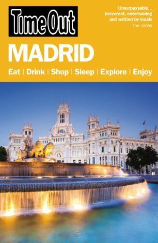 Time Out Madrid City Guide, Out, Time 1846703751