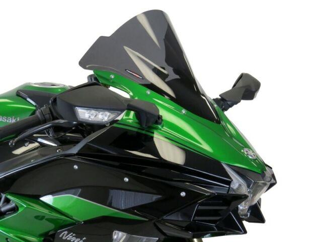 Kawasaki Ninja 400 18-19 Dark Smoke Double Bubble Screen - Powerbronze