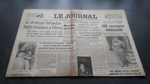 034-LE-JOURNAL-034-EDITION-DE-5-HEURES-ANCIEN-N-17303-MARDI-5-MARS-1940-ABE
