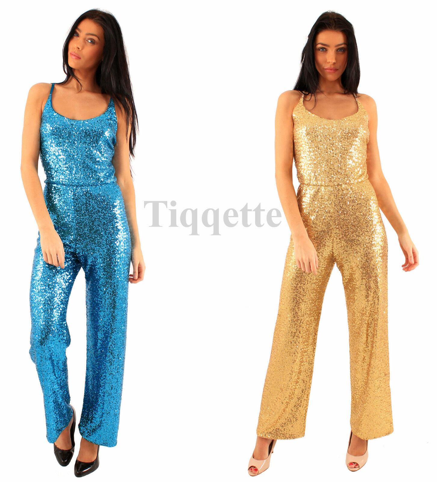 Sequin Jumpsuit in 2 Glorious Colours