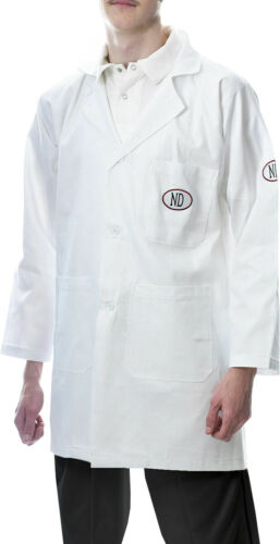 ND Traditional Style White Cotton Official Cricket Umpire Coat UK Postage