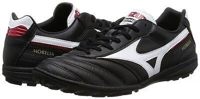 hot sale online 486fa 92d72 Mizuno MORELIA TF Turf Indoor Soccer Football Futsal Shoes Q1GB1600 Black  Japan | eBay